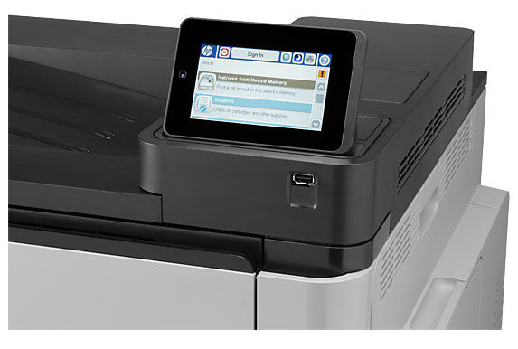 картинка Принтер HP Color LaserJet Enterprise M651dn #B19 от магазина